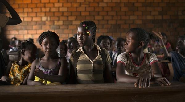 Dans une école de Bangui, en mars 2014. REUTERS/Siegfried Modola