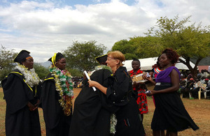 Photo de la cérémonie de remise des diplomes