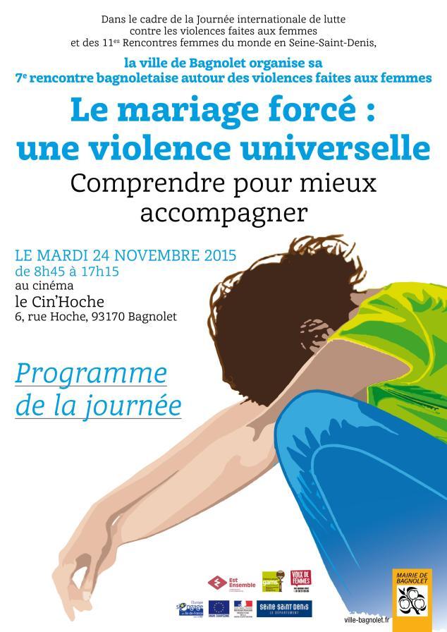 Programme 20 novembre 2015 Bagnolet