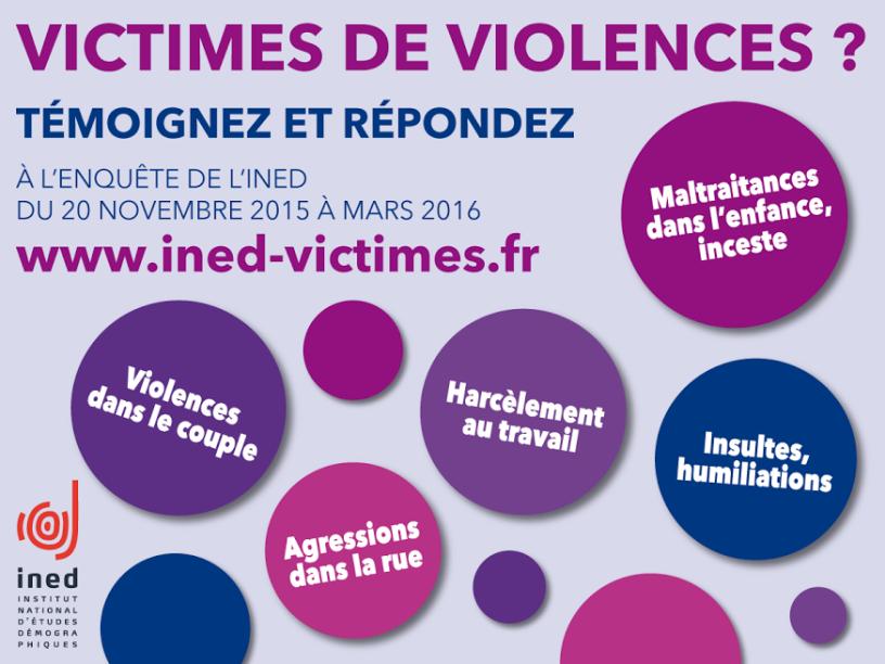 Le GAMS est partenaire de l'enquête scientifique réalisée actuellement auprès des victimes de violences par l'Institut national d'études démographiques (Ined) . Vous êtes ou vous avez été victime de violences ? Répondez à l'enquête https://goo.gl/kUBk8a